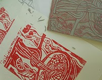 the first Lino cut