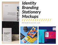 100+ Free Identity Branding Stationery Mockups 2020