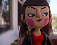 Gata Cegata - Roller Derby Doll