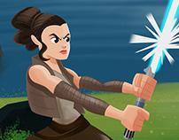Star Wars The last Jedi Fanart