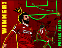 Mo Salah Pukás Goal of the year - LFC