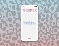 Thinker mobile app