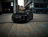 Maserati Levante 2017 - 3D Render