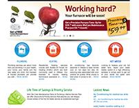 Francis Plumbing Website