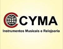 Slogan - Cyma Instrumentos Musicais & Relojoaria