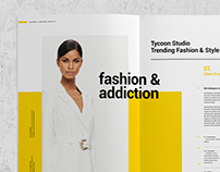 Lookbook and Project Portfolio - Tycoon Series