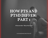 How PTS and PTSD Differ: Part 1