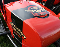 Branding the Wilkinson Bros Motorcycle Sidecar