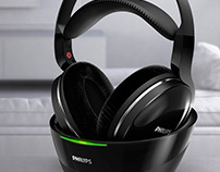 Philips - Wireless TV Headphones