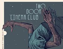 Two Door Cinema Club | 2017 USA Tour Poster