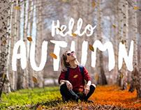 Hello Autumn – Photoshop Action