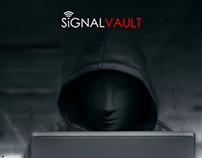Signal Vault Landing Page Design
