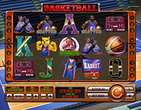 "Slot machine - ""Basketball"""