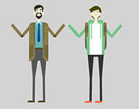 E-Learning Character Design