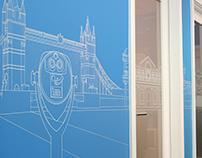 Webcredible Office Design and Illustration