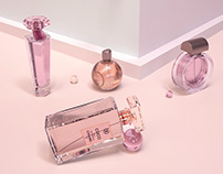 c4d octane perfume 3 d rendering 香水