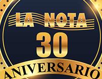 Aniversario 30 La Nota & El Deportista