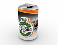 Tuborg / Roskilde 2015 Beer Can Design Competition