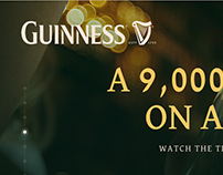 Guinness® Responsive Web Design Concept
