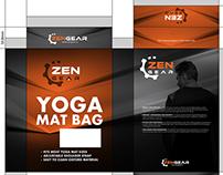 (Packaging Design) for Zen Gear
