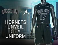 Charlotte Hornets - Buzz City Uniform Unveil