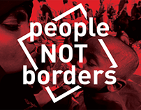 LOGO for nonprofit organization People not borders