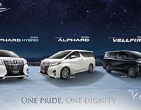 Toyota Alphard Microsite