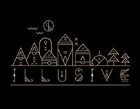 Illusive line art (graphic design challenge)