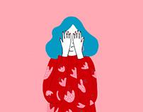 Happy/unhappy illustration