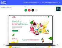 Cymes / webdesign
