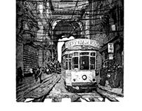 Tram sull'arco 2017