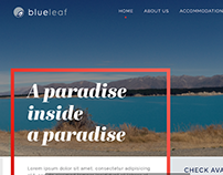 Blue Leaf Resort Website