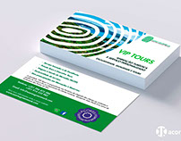 Azores GreenMark - Cartão de Visita