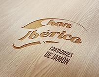 """Logotipo y desarrollo de imagen de """"Chon Ibérico"""""""