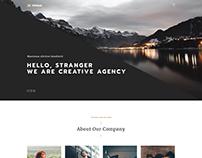 Montana - Fully Responsive One Page Portfolio