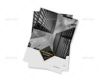 Corporate Brochure Template A4