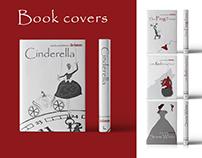 Grimm's Fairy Tales book cover design