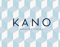 Kano: Free geometric font