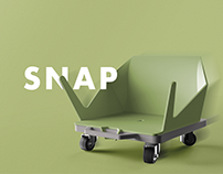 SNAP: Adaptive Track Scooter