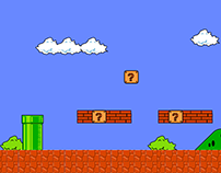 Super Mario with new characters