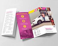 Volkswagen Service Recommendation - Tri-Fold Design
