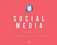 Ultimate Nutrition   Social Media