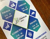 Semana de Finanças  - banner e folder