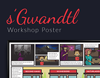 s'Gwandtl Workshop Poster