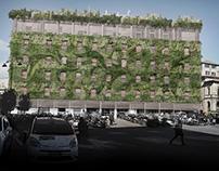 Un giardino rampante per Siena