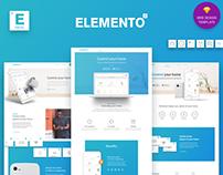 Elemento - Multi-Purpose Web Design Template