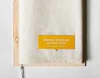 """Webdesign and Booklet """"Bürgerbrunch Münster"""""""