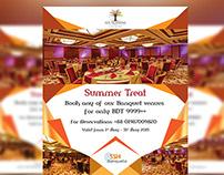 banquet hall flyer on behance