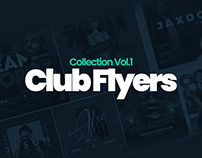 Club Flyers Collection Vol.1