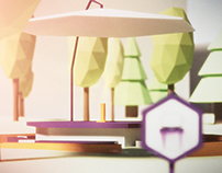 Chambery Low Poly Part II - Teaser Application ©Boo